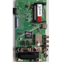 17MB82S, 23285947, Vestel 40FA5050, Main Board, Ana Kart, VES400UNDS-2D