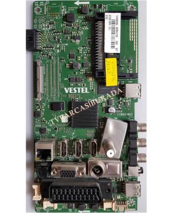 17MB96, 23254133, 23254134, Vestel 50FA7500, Main Board, Ana Kart, VES500UNVA-2D