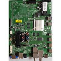 17MB120, 23330749, 23330760, Vestel 4K 43UA8900, Main Board, Ana Kart, VES430QNEL-2D