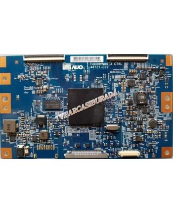 T460HVN05.3 CTRL BD, 46T21-C07, 5546T24C03, SAMSUNG UE46F6400A, T CON Board, T460HVF02.4