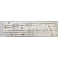 6916L-2708A, 6916L-2707A, 6916L-2706A, 6916L-2705A, 49 V16.5 ART3 2708 REV0.02, 49 V16.5 ART3 2707 REV0.02,  49 V16.5 ART3 2706 REV0.02, 49 V16.5 ART3 2705 REV0.02, LC490DGE(FJ)(M2), LG 49UH610V-ZB, LG 49UH610, Led Backligth Strip, Led Bar, Panel Ledleri