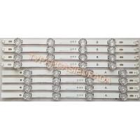 40 DRT4.0 REV0 7 A-TYPE SVL400, 40 DRT4.0 REV0 7 B-TYPE SVL400, HC400DUN, HC400DUN-VCKN7-214X, GAN01-0885A, GAN01-0884A, LG 40MB27HM-P, LG 40MB27HM, Led Backligth Strip,Led Bar