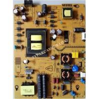17IPS72, 23405617, Vestel 49UD8400, Power Board, Besleme, VES490QNYL-2D