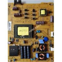 17IPS71, 23221004, 190814R4, VESTEL 40FA5050, Power Board, Besleme, VES395UNDC-2D-N01